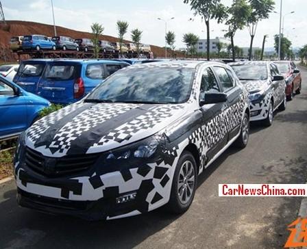 Spy Shots: Baojun 630 hatchback testing in China