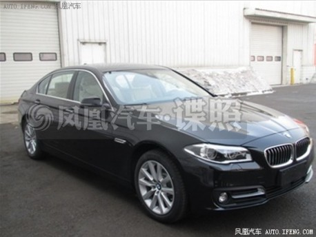 Spy Shots: facelift for the BMW 5Li in China