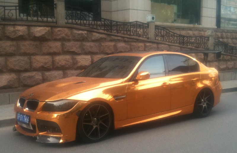 BMW M3 is Bling in China