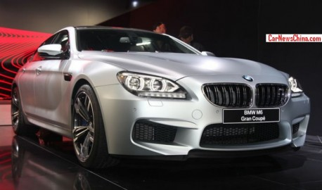 BMW M6 Gran Coupe hits the China car market
