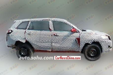 Spy Shots: Chang'an CS75 SUV seen testing in China yet again
