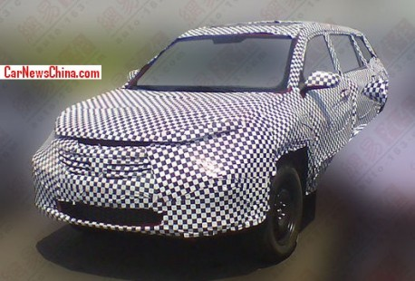 Spy Shots: Chang'an CS75 SUV testing in China