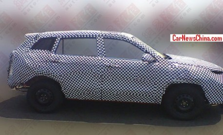 Spy Shots: Chang'an CS75 SUV testing in China
