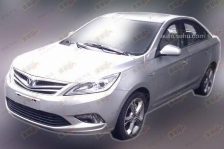 Spy Shots: Chang'an Eado 1.5 Turbo testing in China