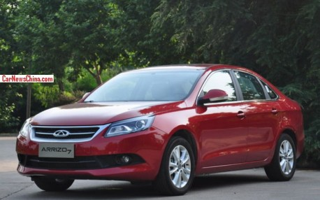 Chery Arrizo 7 launched on the China car market