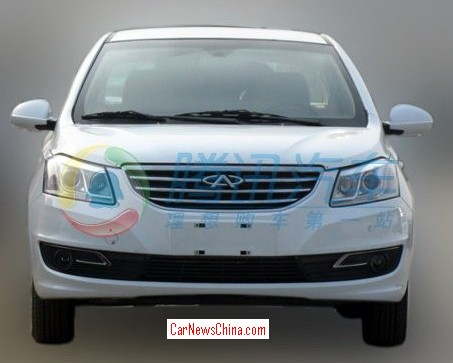 Spy Shots: Chery E3 seen testing in China