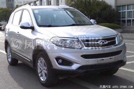 Spy Shots: Chery Tiggo 5 without Camouflage in China