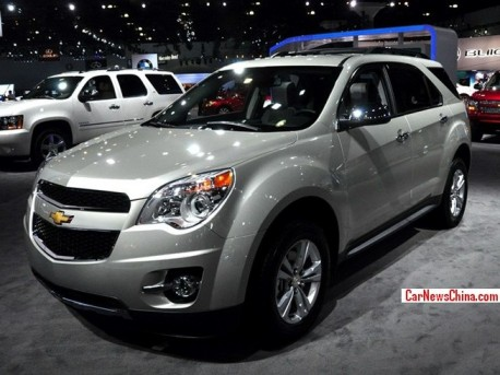 New Chevrolet Equinox will be made in China