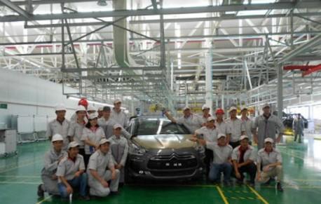Production of the Citroen DS5 has started in China