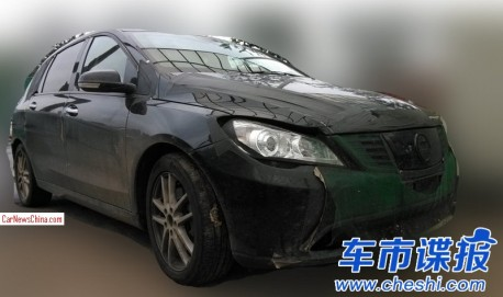 Spy Shots: Daimler-BYD Denza EV seen testing in China