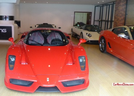FFF Automobile has a new shop in China