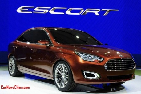 New Ford Escort will hit the China car market in 2014