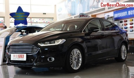 New Ford Mondeo will hit the China car market on August 29