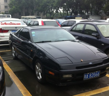 Spotted in China: Ford Probe in black