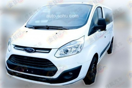 Spy Shots: Ford Tourneo Custom testing in China