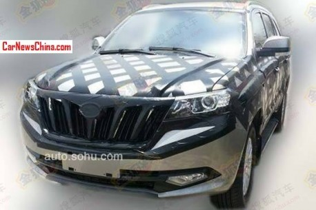 Spy Shots: Foton U201 SUV losing some camo in China