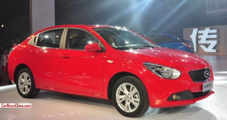 Production of the Guangzhou Auto Trumpchi GA3 has started in China
