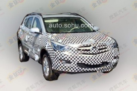 Spy Shots: Haima S5 SUV testing in China