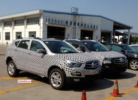 Spy Shots: Haima S5 SUV seen testing in China