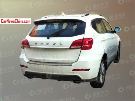 Spy Shots: Haval H2 seen testing in China
