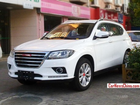 Spy Shots: Haval H2 is testing Naked in China