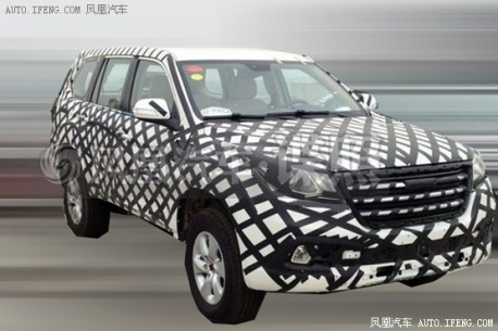 Spy shots: Haval H9 seen testing in China