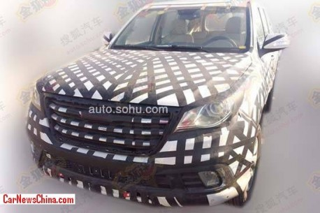 Spy Shots: Haval H9 spied testing in China