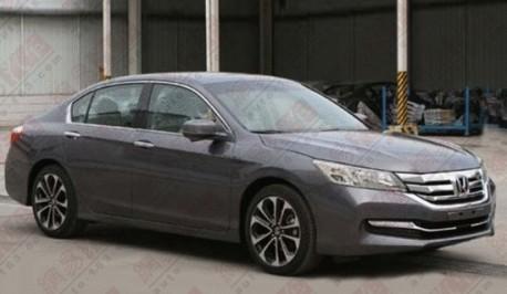 Spy Shots: new Honda Accord is Naked in China