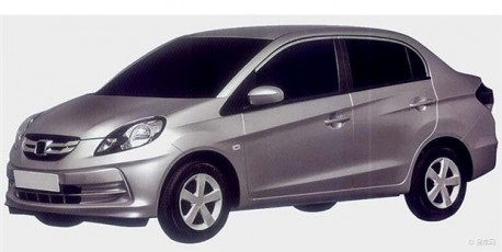 Patent Applied: Honda Brio Amaze to come to China