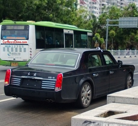 Spy Shots: Hongqi L5 seen on the Road in China