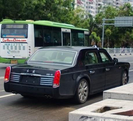 Spy Shots: Hongqi L5 seen on the Road in China
