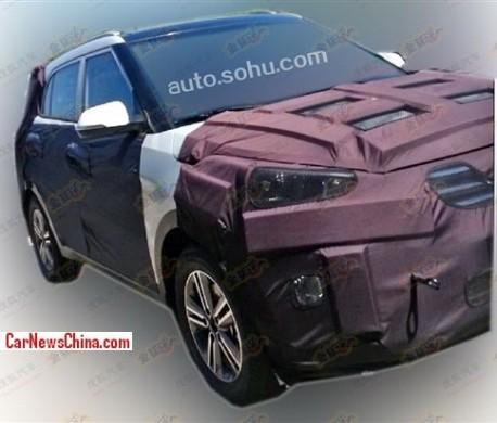 Spy Shots: new Hyundai entry-level SUV testing in China