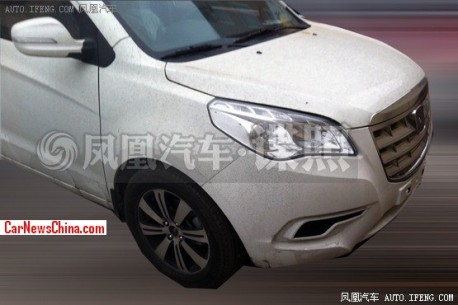 Spy Shots: facelift for the Brilliance-Jinbei S30