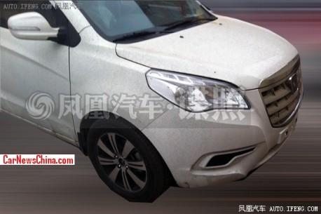 Spy Shots: facelift for the Brilliance-Jinbei S30