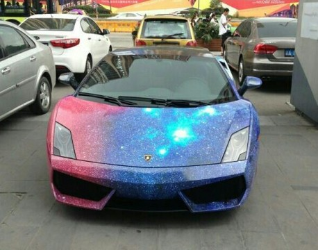 Lamborghini Gallardo is the galaxy in China