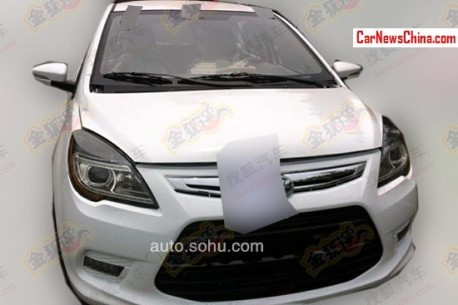 Spy Shots: new Lifan SUV testing in China