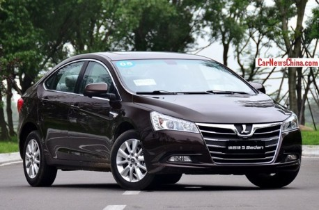 Luxgen 5 Sedan hits the China car market