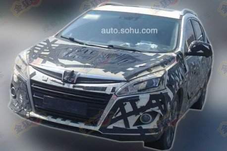 Spy Shots: Luxgen U5 compact SUV testing in China