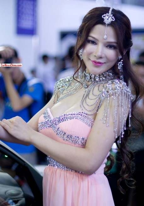 The Pretty Girls @ the 2013 Guangzhou Imported Luxury Automobile Exhibition