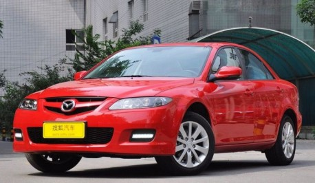 First generation Mazda 6 still going Strong in China