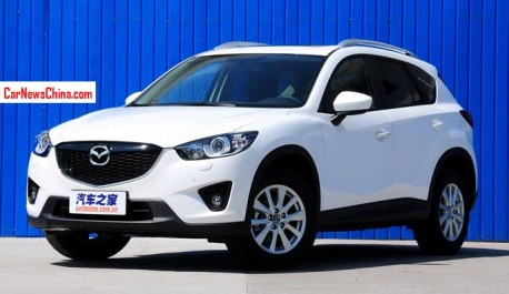 China-made Mazda CX-5 gets a Price in China