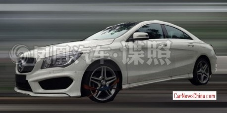 Mercedes-Benz CLA will be Stretched for China
