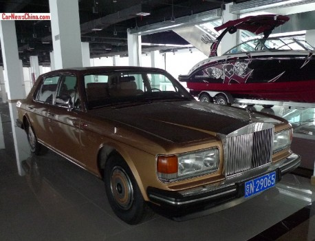 Spotted in China: Rolls-Royce Silver Spur