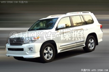 Spy Shots: Toyota working on sporty Land Cruiser for China