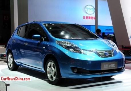 Venucia e30 EV will hit the China car market in 2015