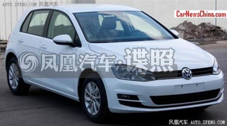 Spy Shots: China-made Volkswagen Golf 7 is Ready for the Chinese car market