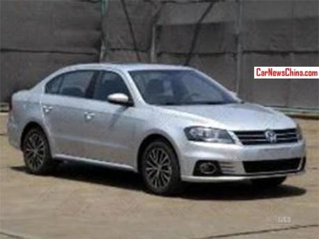 Spy Shots: Volkswagen Lavida Sport for the China car market