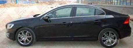 Spy Shots: Volvo S60L is Naked in China