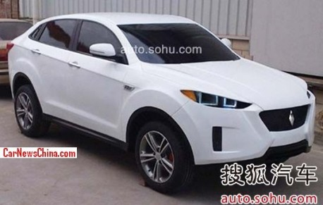 Spy Shots: Yema 'Urus' SUV is Naked in China
