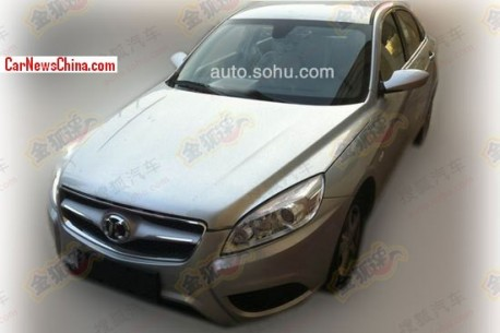 Spy Shots: Beijing Auto C50E naked from all sides in China